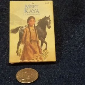 Miniature American Girl Book - Kaya